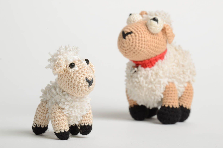 Вязание крючкомигрушка овечка 95