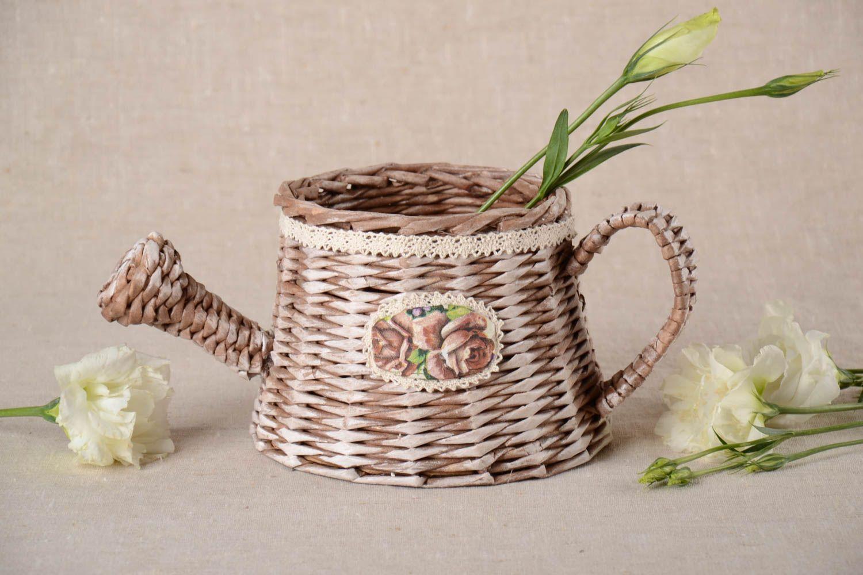 Madeheart deko korb handmade wohnzimmer deko geschenk for Korb deko