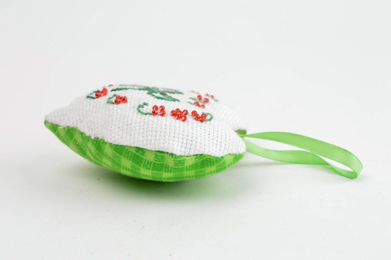 Handmade aromatized hanging unusual decorative pincushion designer soft toy  photo 2