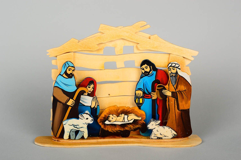 конструктивная открытка рождественский вертеп могут быть