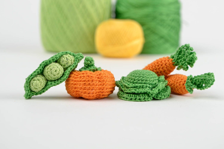 Вязания овощей крючком