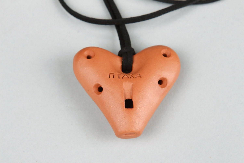 Tin whistle pendant 5 sounds photo 2