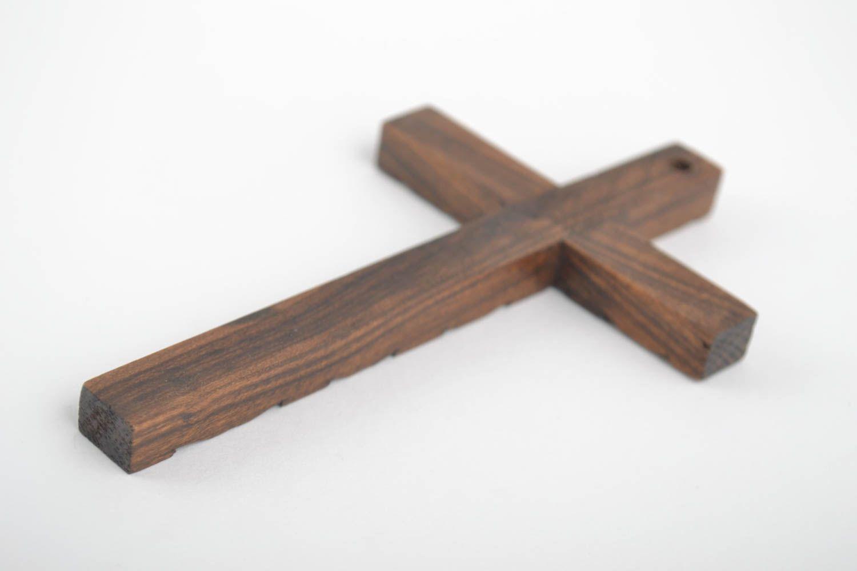 madeheart croix bois objet religieux fait main d co. Black Bedroom Furniture Sets. Home Design Ideas