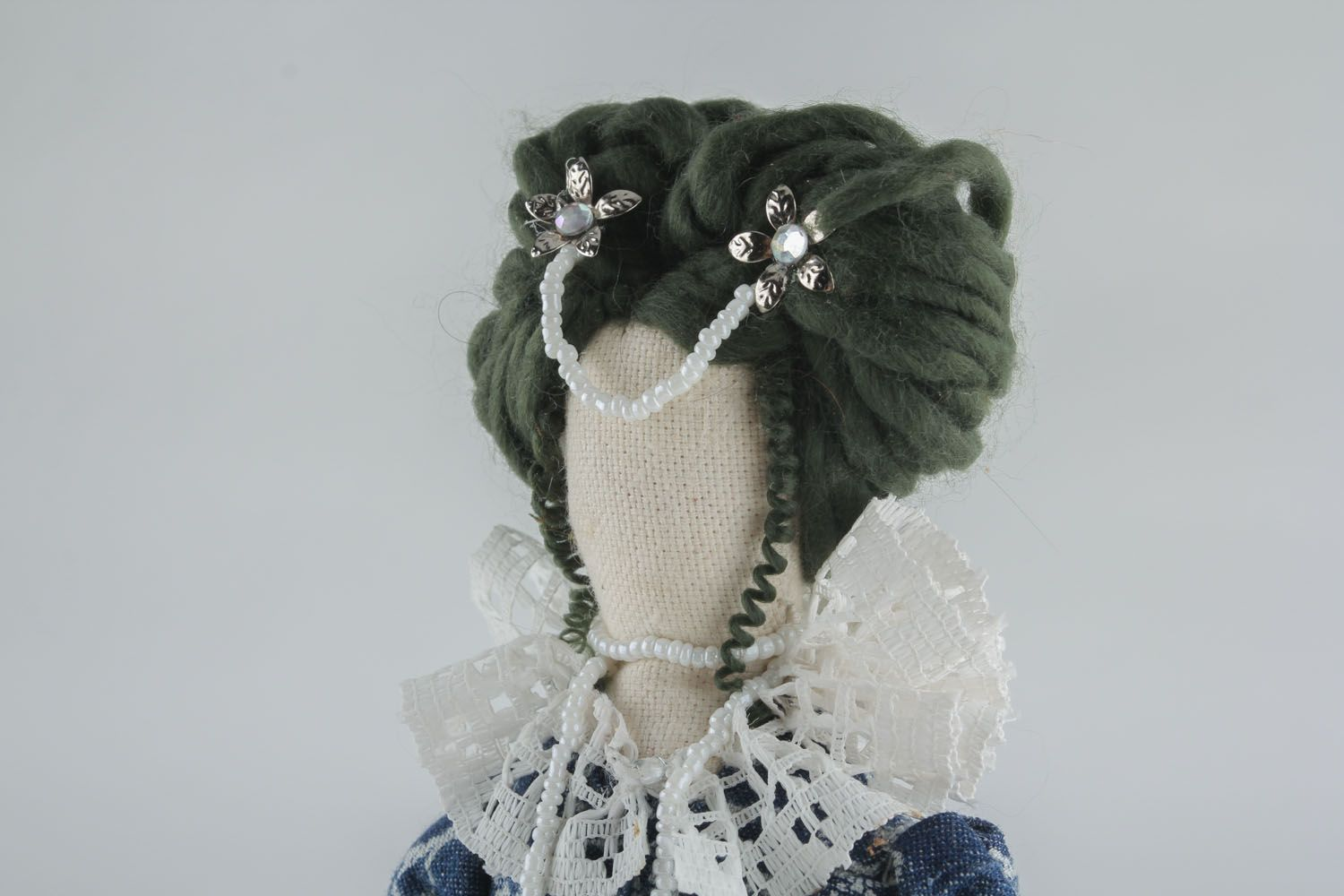 Author's doll without face photo 4