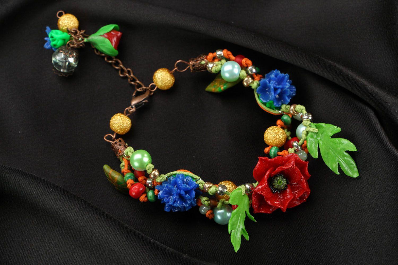 Designer plastic bracelet photo 2