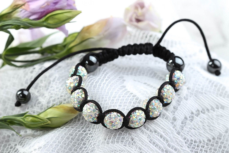 Handmade beaded bracelet summer bracelet designer jewelry stylish accessories photo 1