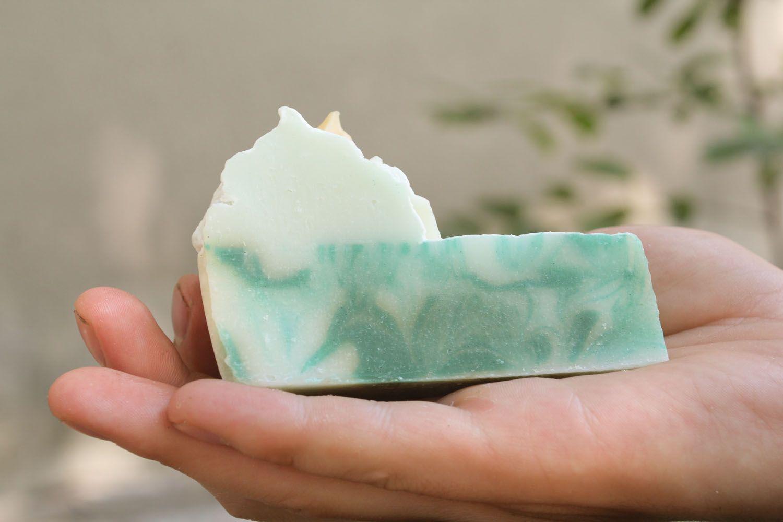 Homemade soap with ylang-ylang oil photo 1