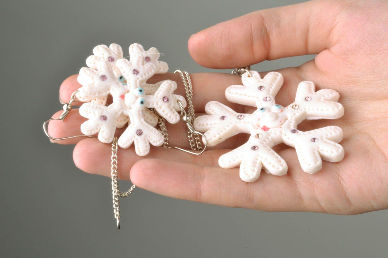 Jewelry set Snowflake photo 2