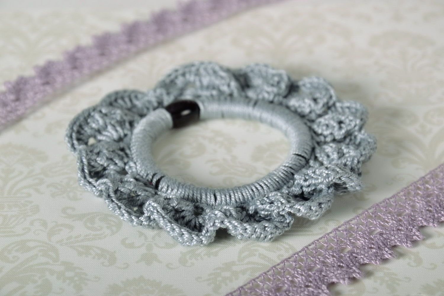 scrunchies Knitted Scrunchy - MADEheart.com