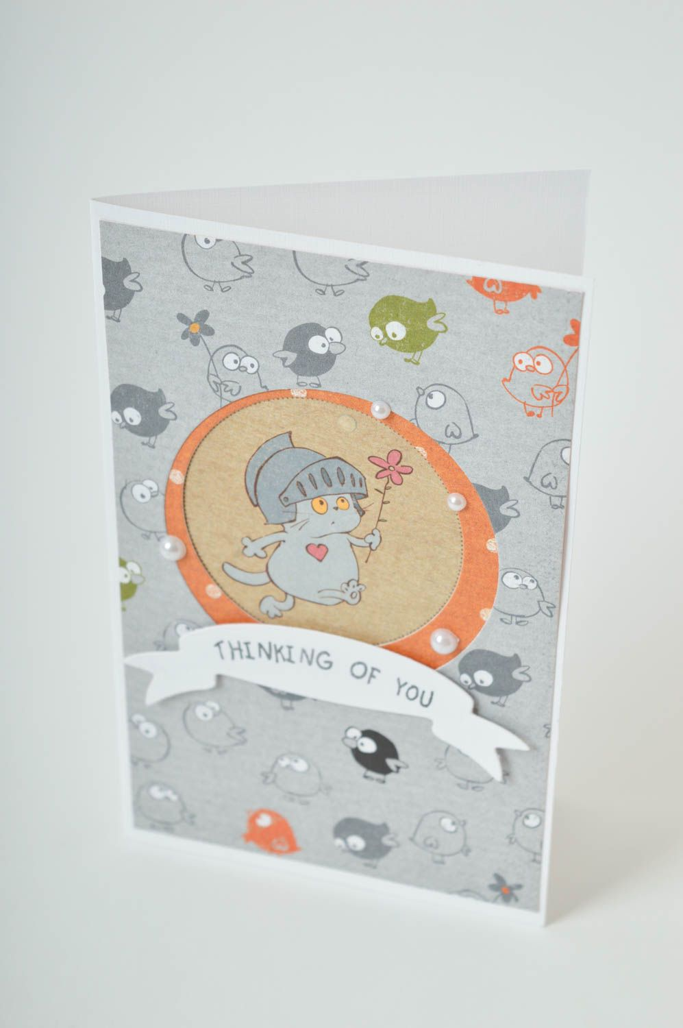 Handmade greeting card cool gifts i love you card paper greeting card  photo 2