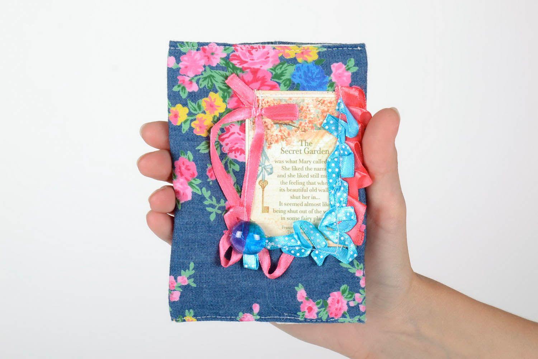 Fabric passport cover photo 5