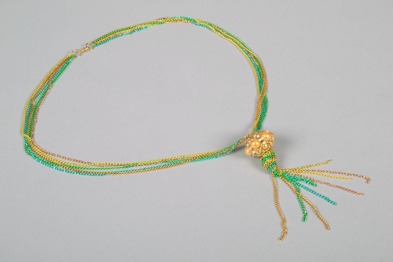 Anhänger aus Perlen handmade foto 4