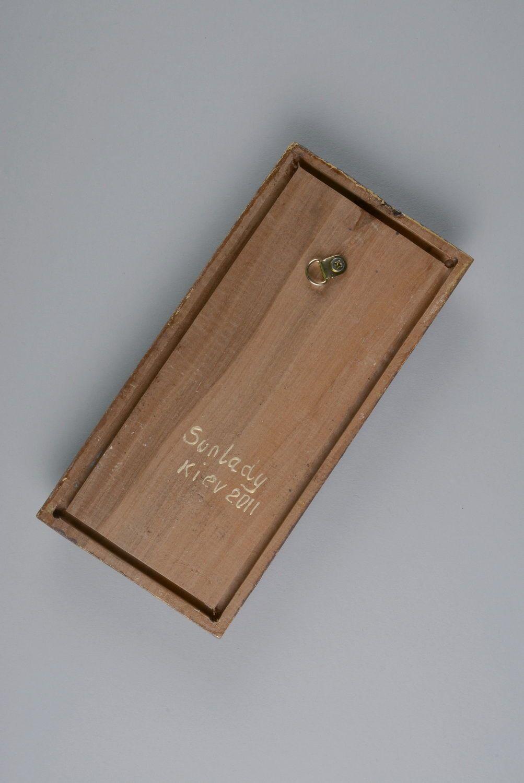 madeheart panneau d coratif en bois artisanal automne. Black Bedroom Furniture Sets. Home Design Ideas