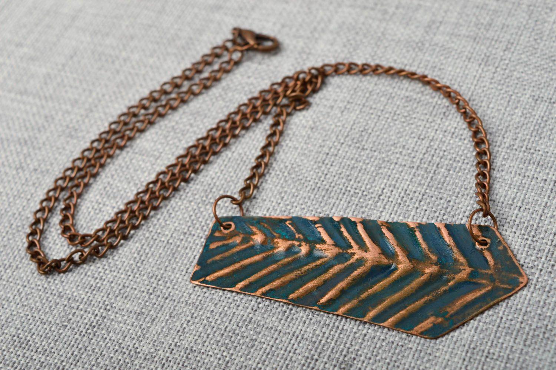 Stylish handmade metal pendant fashion accessories beautiful jewellery photo 2