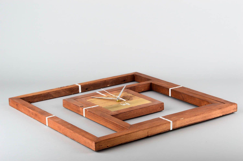 MADEHEART > Handmade Deko Holz Wanduhr Designer Uhr Wand ...