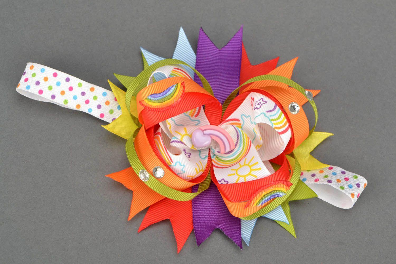 Детская повязка Веселая радуга  фото 1
