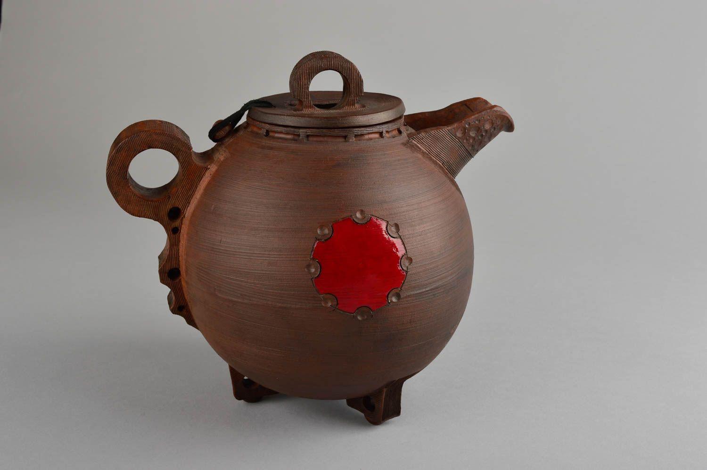 Tea Pots And Coffee Pots Unusual Handmade Ceramic Teapot Clay Teapot Design  Kitchen Supplies Ideas