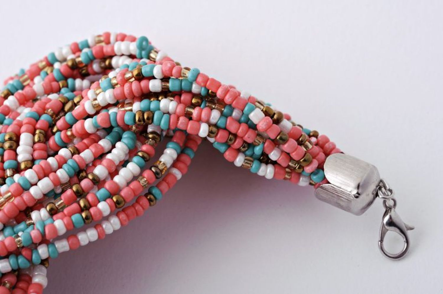 Multi-layer beaded bracelet photo 2