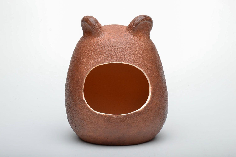 Ceramic bath for chinchilla photo 2