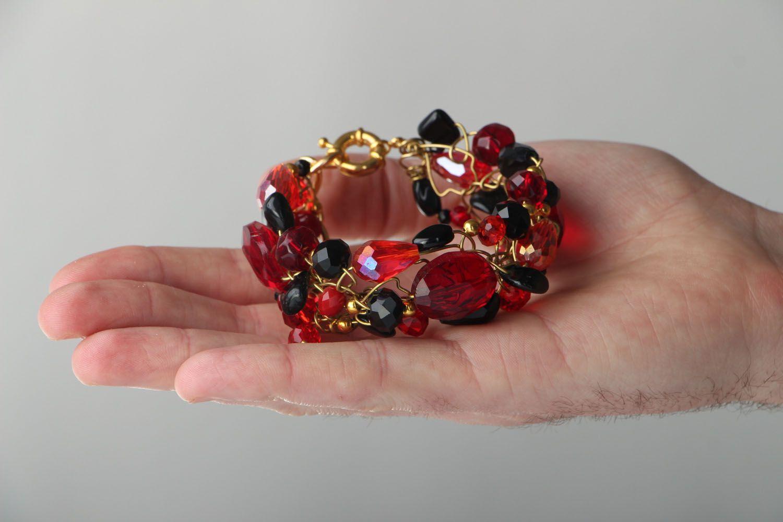 Wrist bracelet with agate photo 4