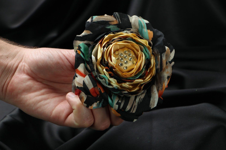 Silk brooch photo 4