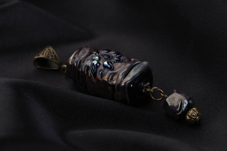 Handmade Glasanhänger Zauberstein foto 2