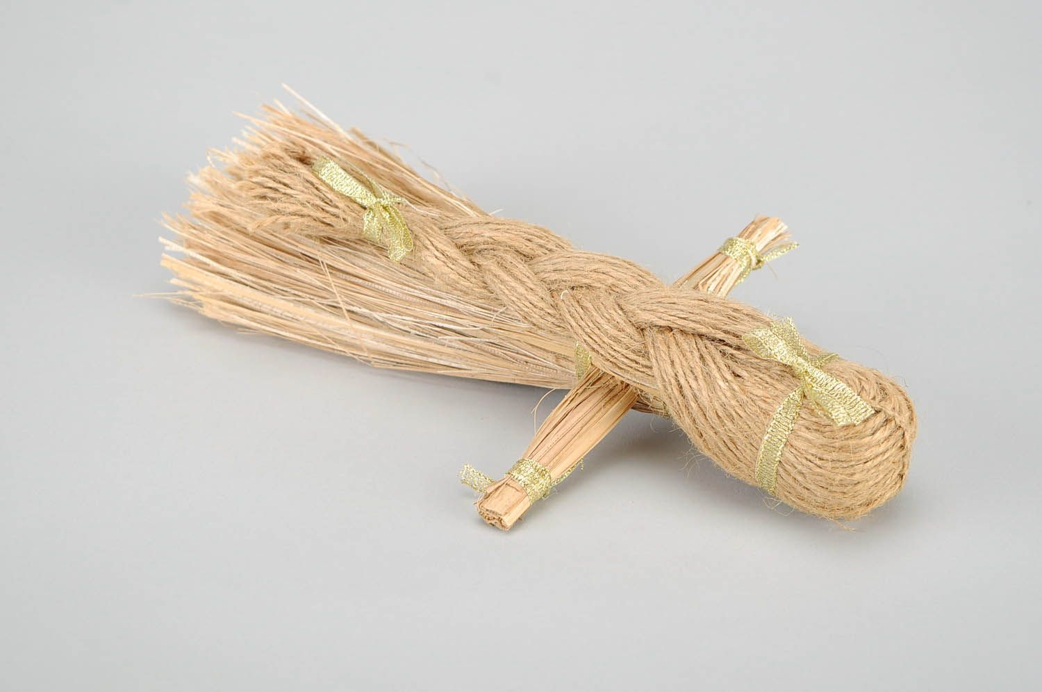 Amulet doll made of natural material photo 4