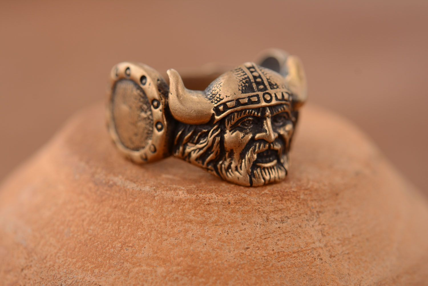 Bronze ring Viking photo 2