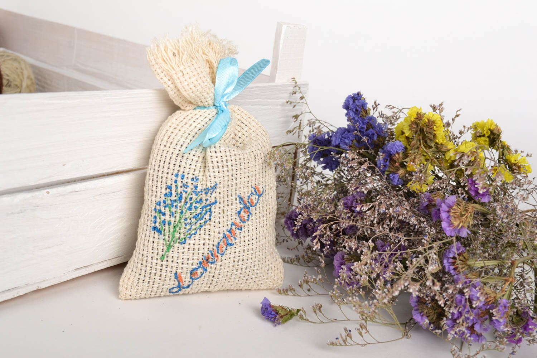 Handmade sachet bag lavender sachet home decor aroma therapy unique gifts photo 1