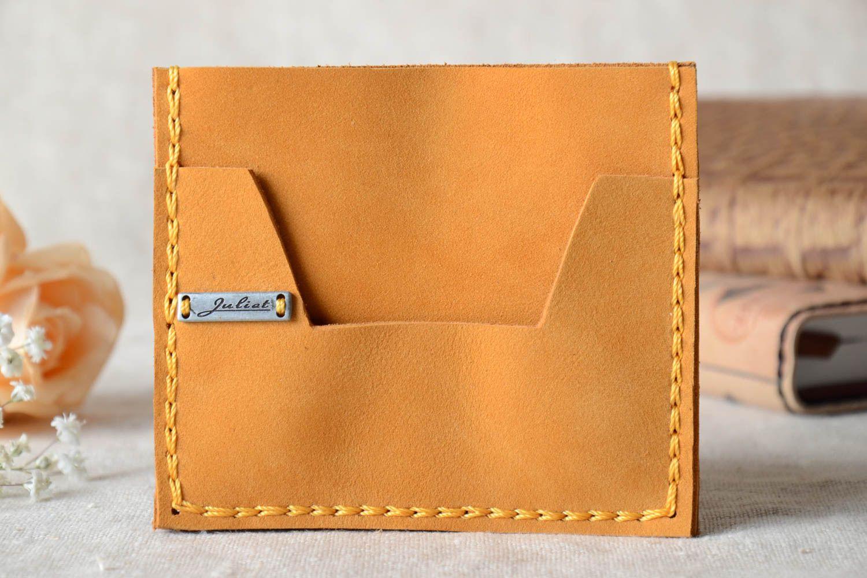 porte-monnaie, portefeuilles Portefeuille femme Maroquinerie femme fait  main cuir naturel Cadeau original - f81da474ca1