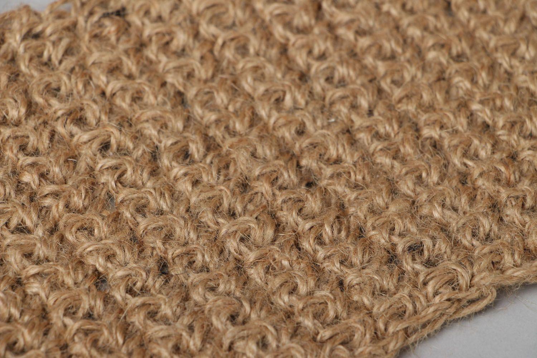 Crochet body scrubber  photo 2