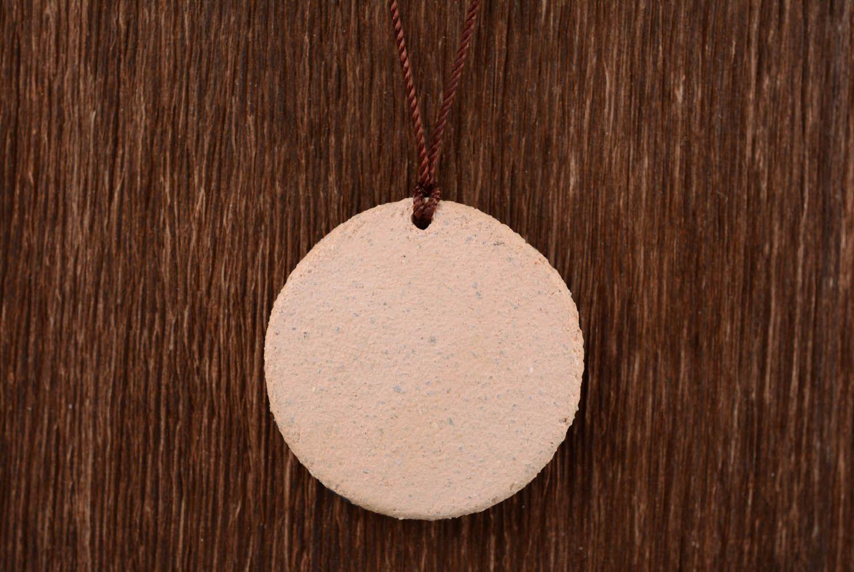 Clay pendant amulet Svarog photo 5