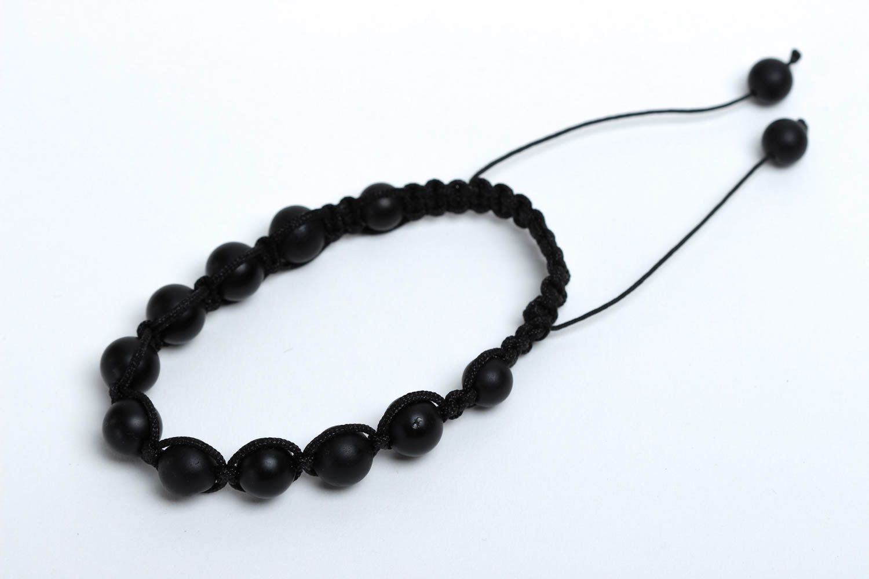 Beaded bracelet woven bracelet for men fashion jewelry present for friend photo 2