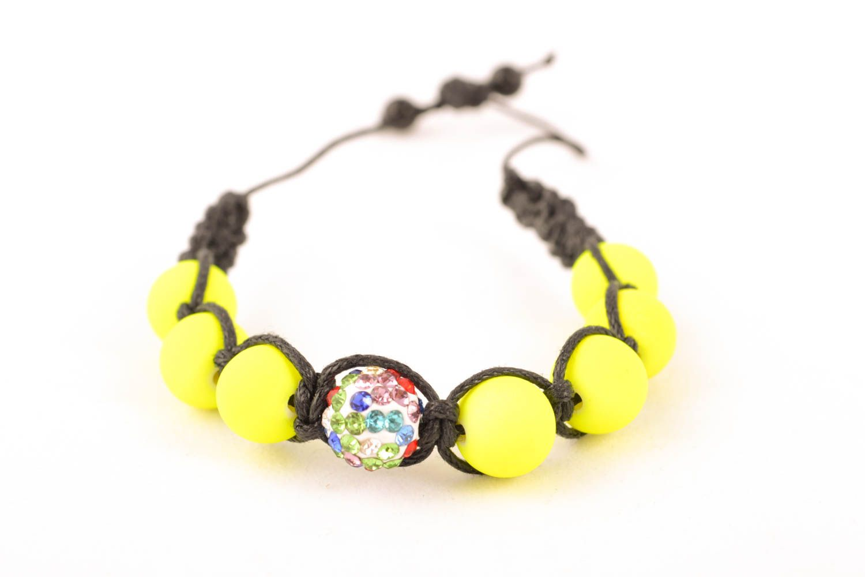 Unusual woven bracelet photo 1