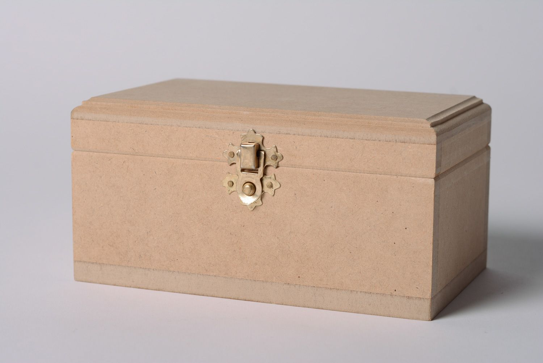 MADEHEART Caja para decorar hecha a mano de madera material para