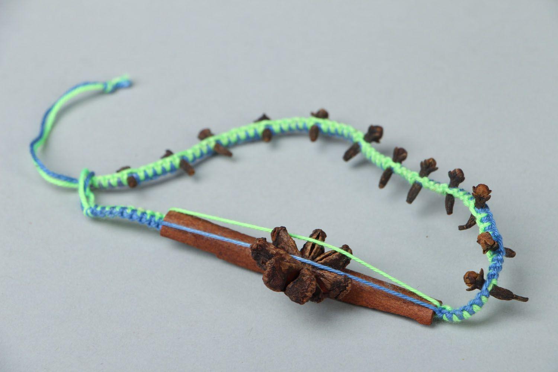 Friendship bracelet with cinnamon aroma photo 2
