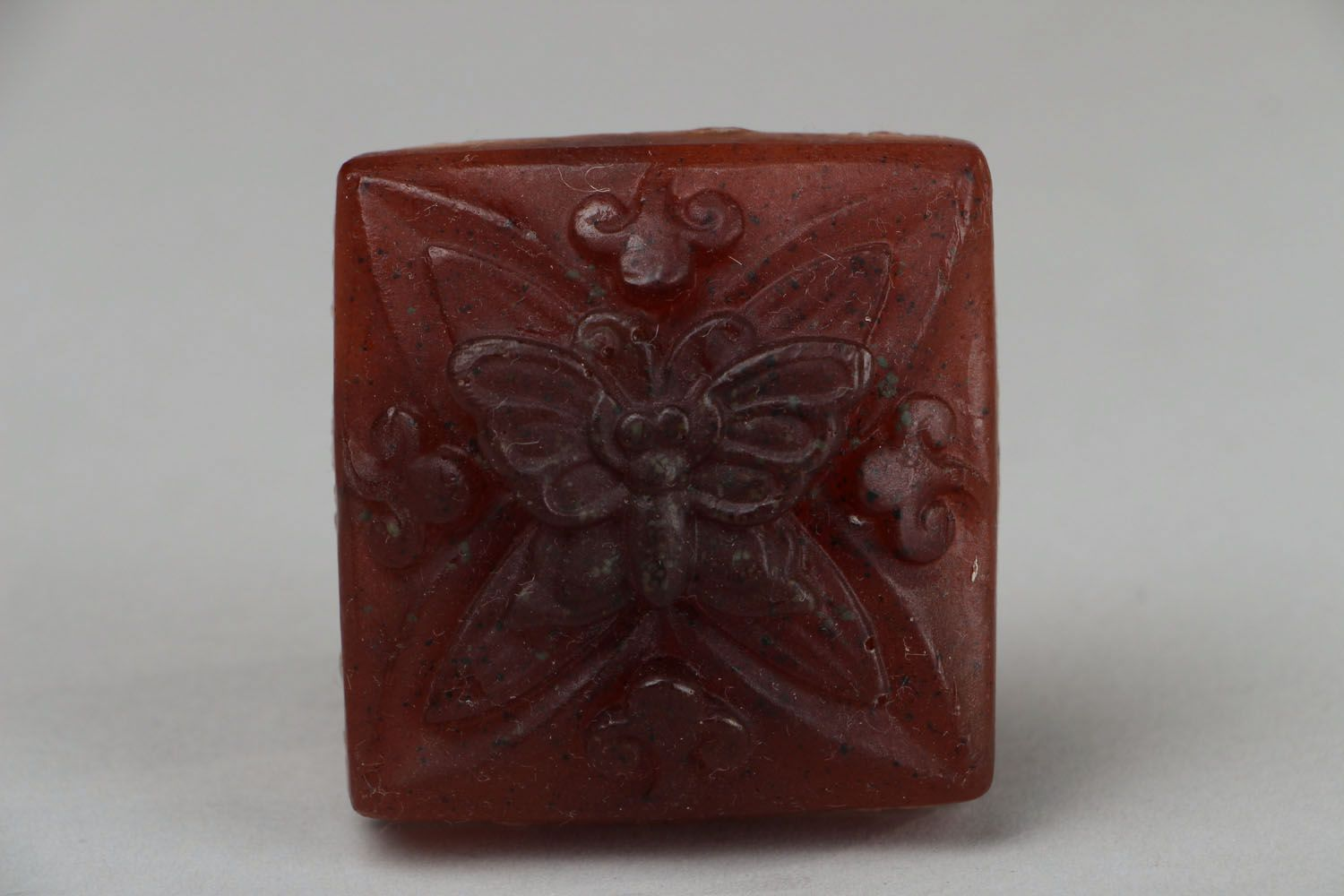 Natural soap Butterfly photo 1