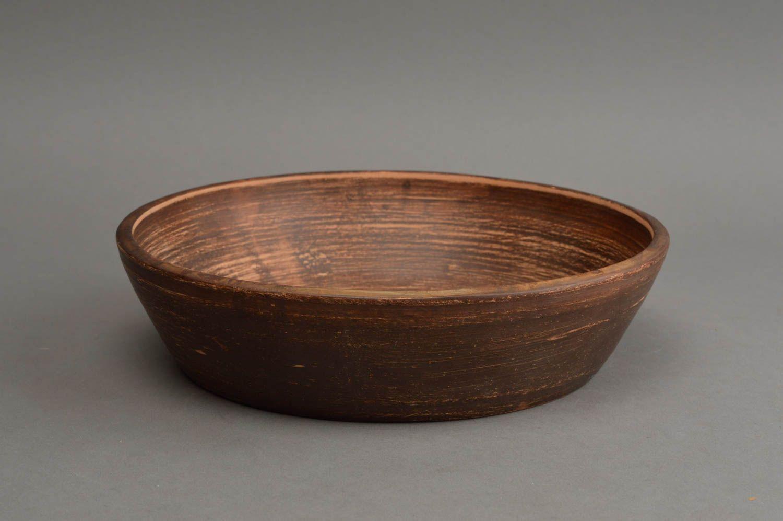 Madeheart plato de cer mica artesanal vajilla moderna for Ceramica de cocina precios