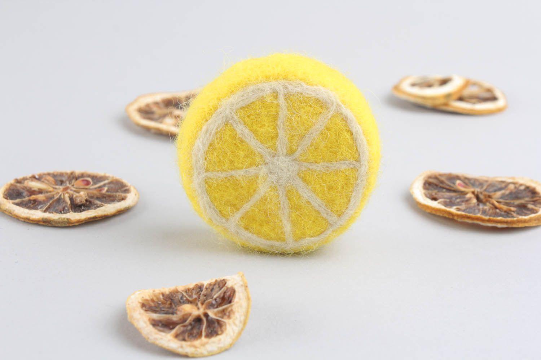 Loofah soap Lemon photo 3