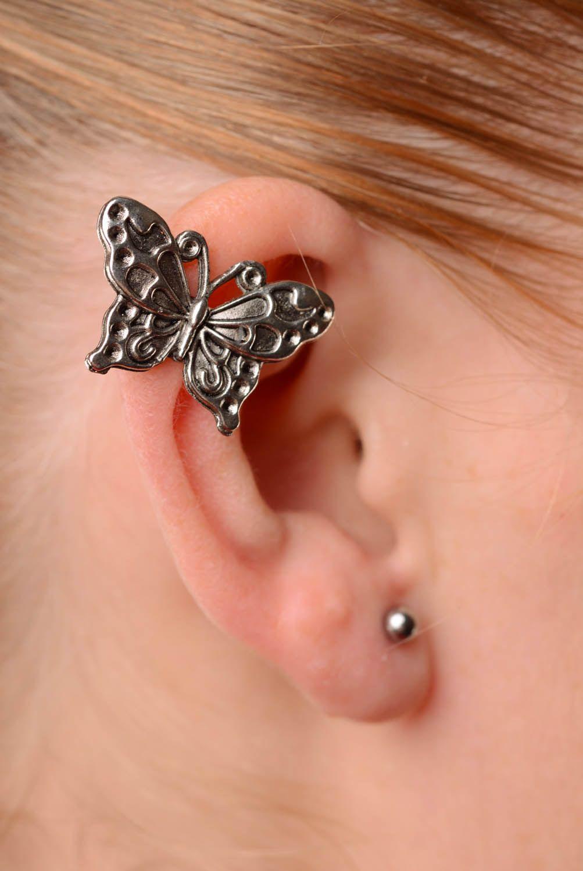 Cuff earring Butterfly photo 2
