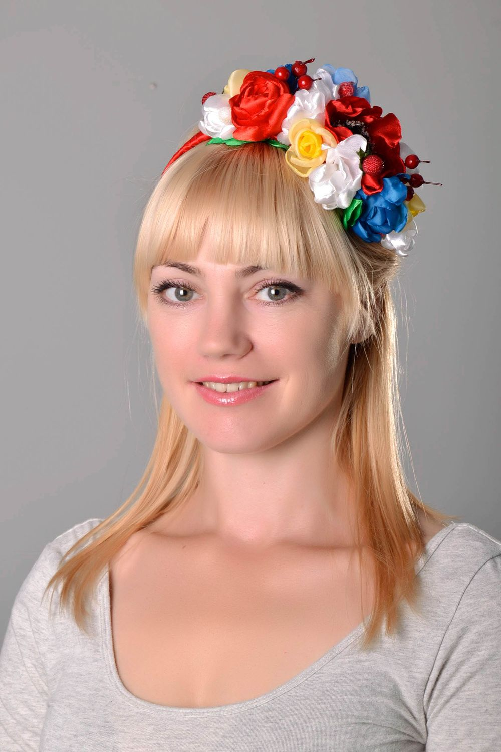 headbands and wreaths Flower head wreath - MADEheart.com