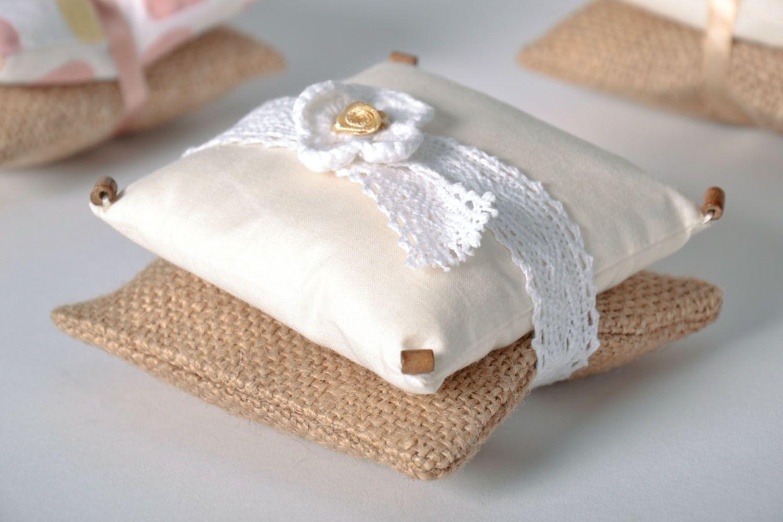 Homemade sachet pillow photo 1