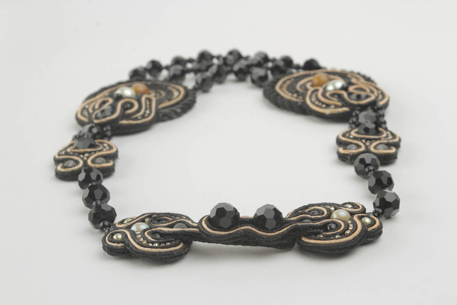 Soutache necklace  photo 2