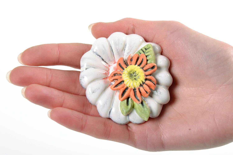 Flower fridge magnet  photo 2