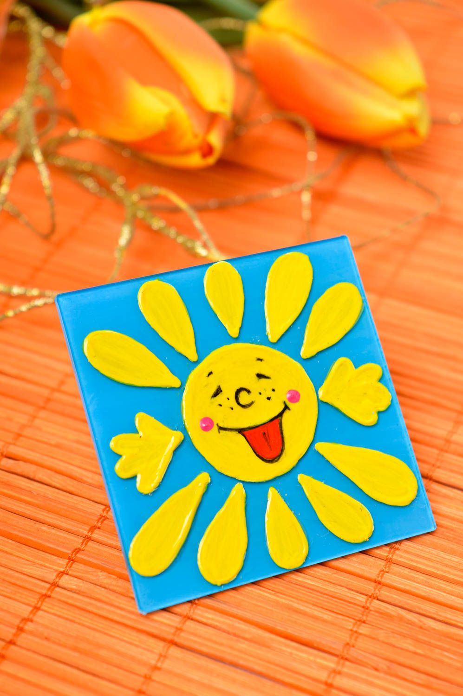 Bright handmade fridge magnet souvenir magnet modern kitchen decorative use only photo 1