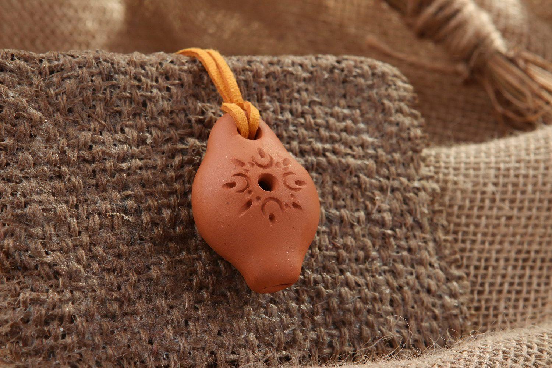Tin whistle pendant, 2 sounds photo 1