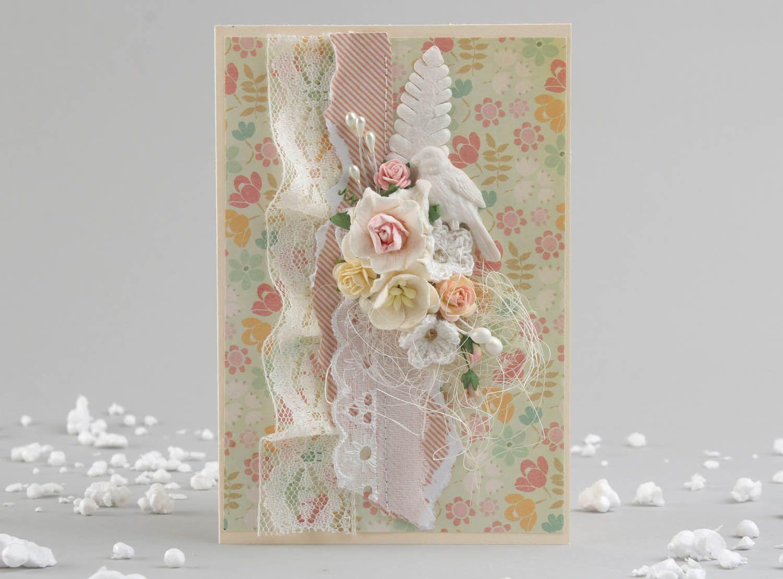 Handmade designer's postcard photo 1