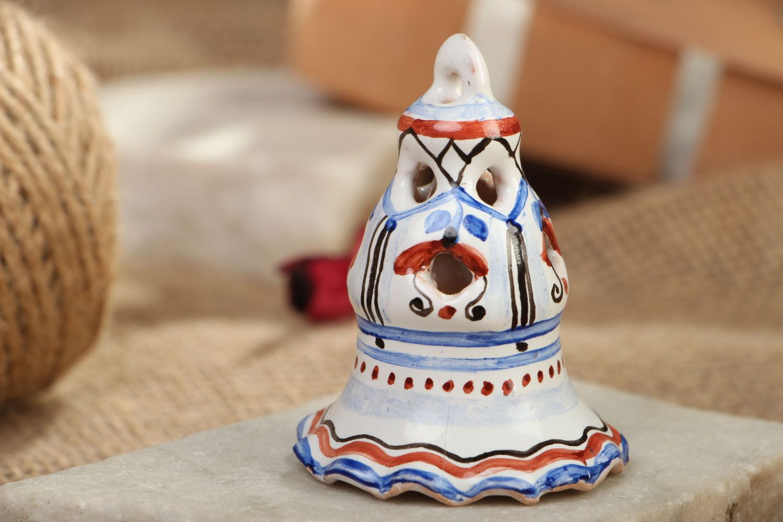Unusual ceramic bell photo 5