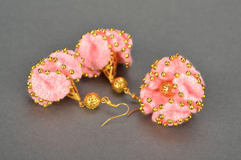 Crochet jewelry set Cake photo 1