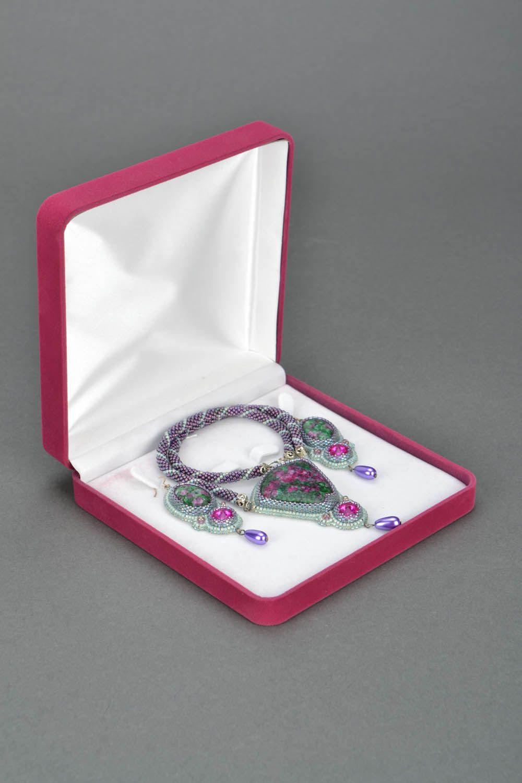 Homemade jewelry set Sultana photo 3